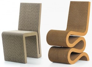 sedia cartone, poltrona cartone, sedie greem green chair, sedia ecosostenibile, green thinking