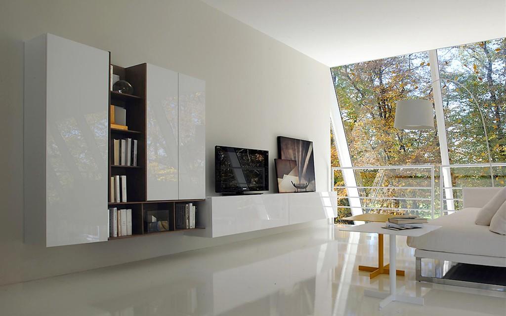 Disposizione arredamento soggiorno idee per il design - Disposizione mobili cucina ...