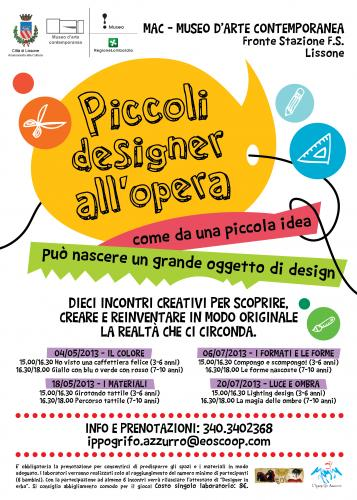 lissone, piccoli design