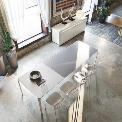 domus arredi lissone, tavolo allungabile, tonin casa, offerta, promozione, everyday, sedia,