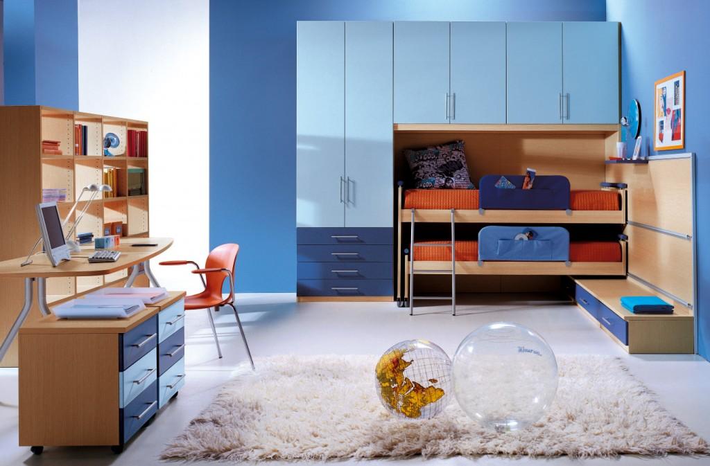 Un 39 ondata di azzurro nella tua cameretta non solo for Mobili per camera ragazzi