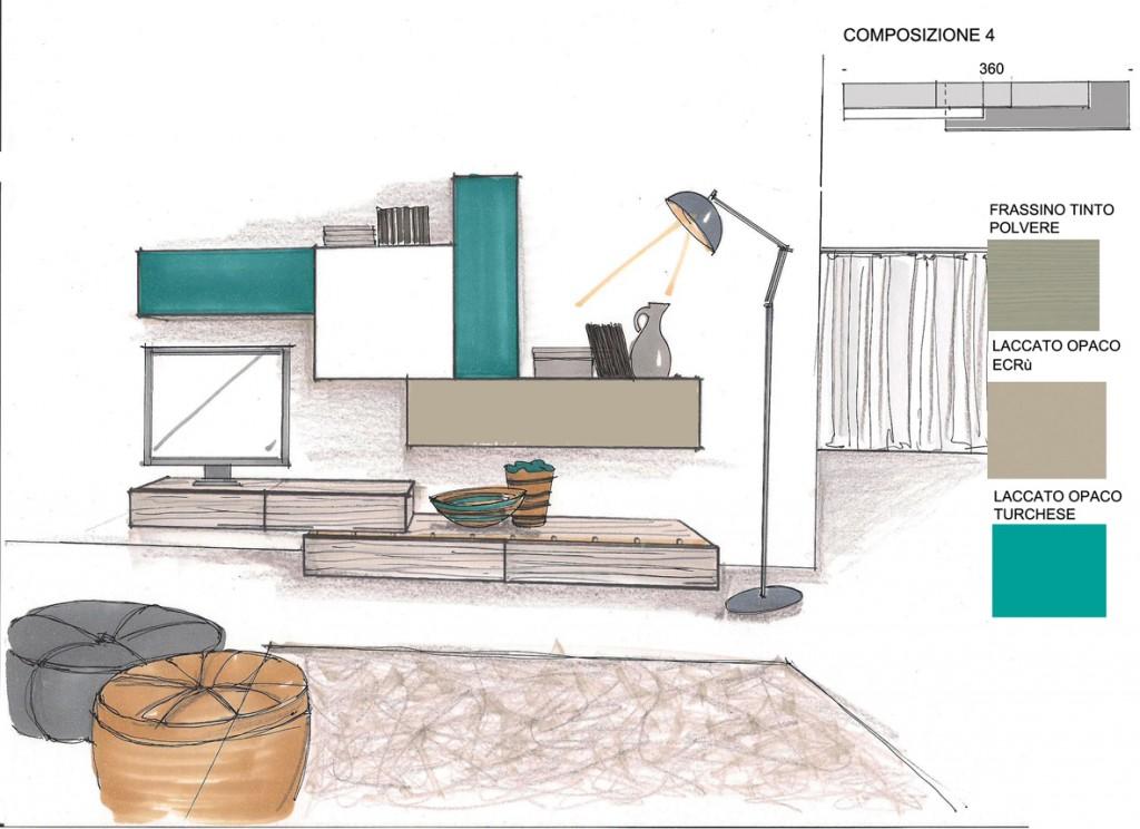Disposizione mobili soggiorno idee per il design della casa - Divano roche bobois usato ...