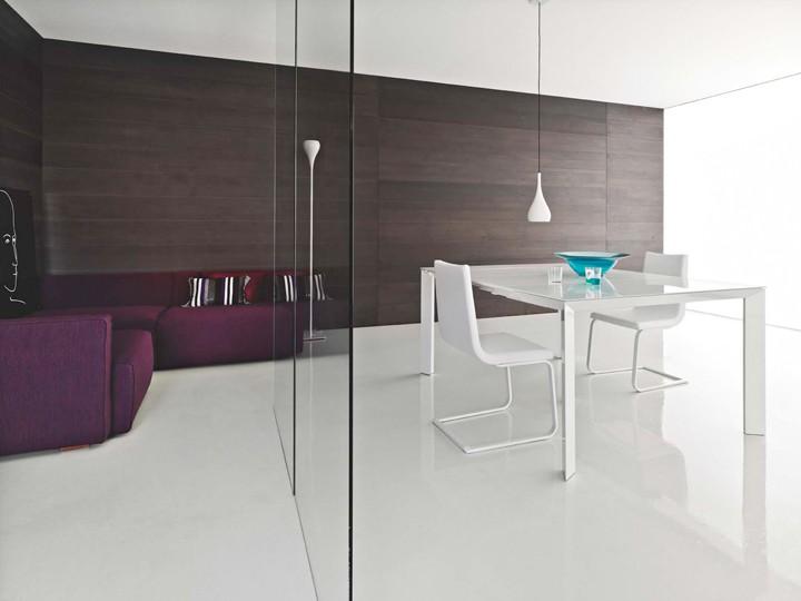 Tavolo consolle archives non solo mobili cucina for Consolle in vetro