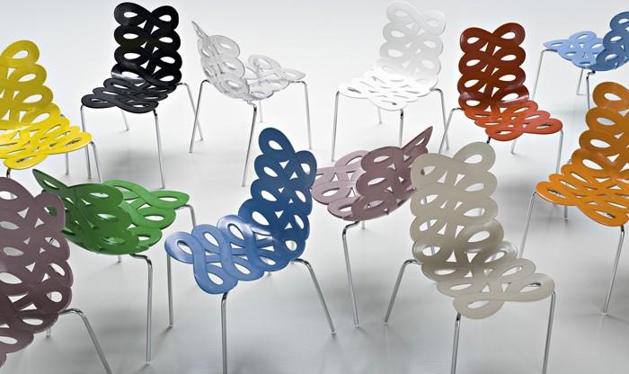 Se ami il colore scegliere la sedia diva di ciacci kreaty