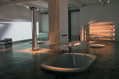 arredi liquidi, Ross Lovegrove, Milano, mostre milano, design, designer, galleria Cardi
