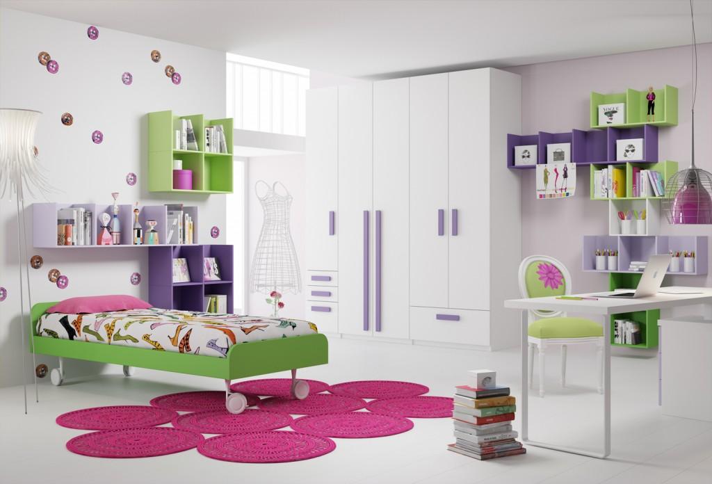 Un arcobaleno di colori per la cameretta del tuo bambino for Complementi d arredo per camerette