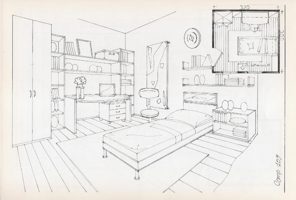 Cameretta archives non solo mobili cucina soggiorno e for Disegni di piano casa di due camere da letto