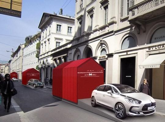 Mobili o automobili al fuori salone di milano 2012 for Mobili per salone
