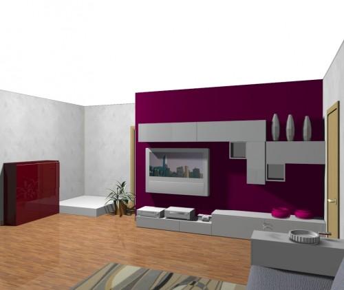 Perfect soggiorno sala soggiorno componibile disegni for Disegni di casa in stile santa fe