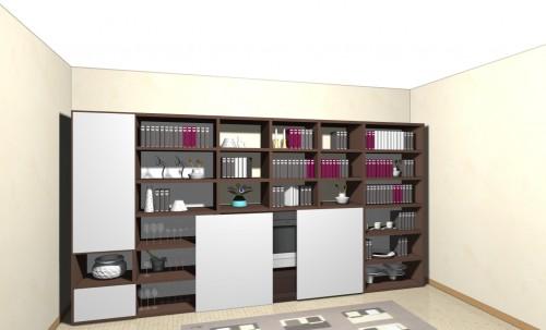 libreria, mobile libreria, soggiorno, soggiorno tv, jesse mobili, jesse, fimar, novamobili, domus arredi, mobili lissone,